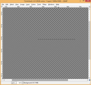 Draw a gray horizontal line