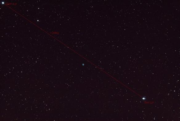 Ring Nebula - Messier 57 Planetary Nebula Benoit Guertin