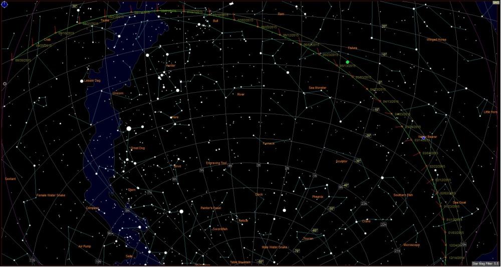 Comet 67P/Churyumov–Gerasimenko : Where is it, and where will it be. (2/3)