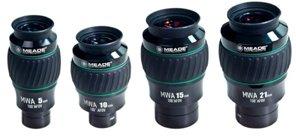 Meade Series 5000 MWA Eyepieces