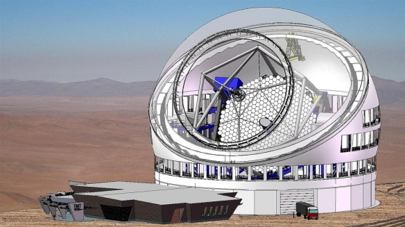 Thirty Meter Telescope - Courtesy TMT International Observatory