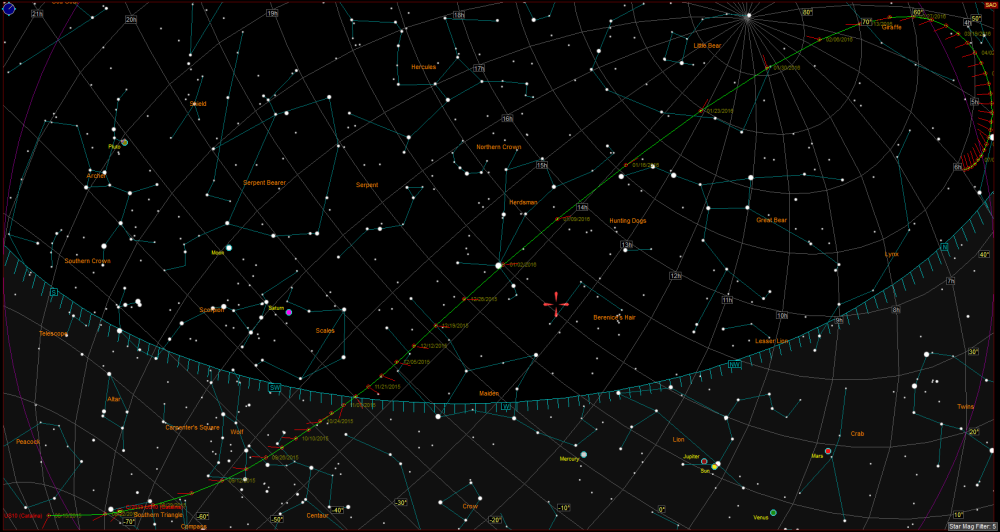 Bright Comet C/2013 US10 (Catalina) - Visible to Northern Hemisphere end of November (1/3)