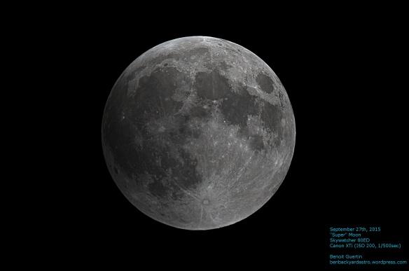 September 27th Full Moon