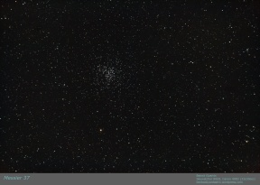Messier 37 - Open Cluster in Auriga