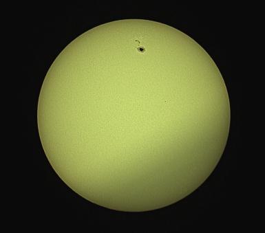 Sunspot 2529 (April 10, 2016) - Benoit Guertin