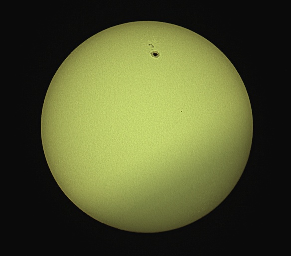 Sunspot 2529 (April 10, 2016) - Benoit Guertin