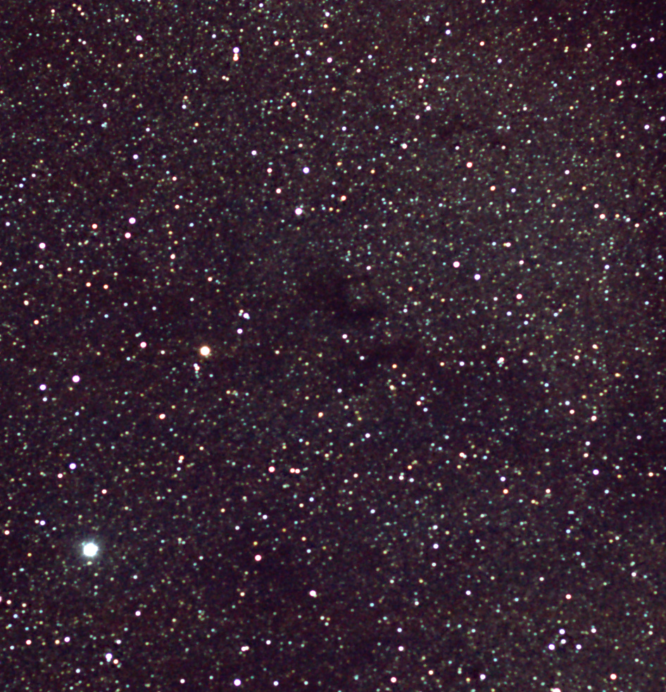 Dark Nebula Barnard 142 and 143 near Altair (Aquila)
