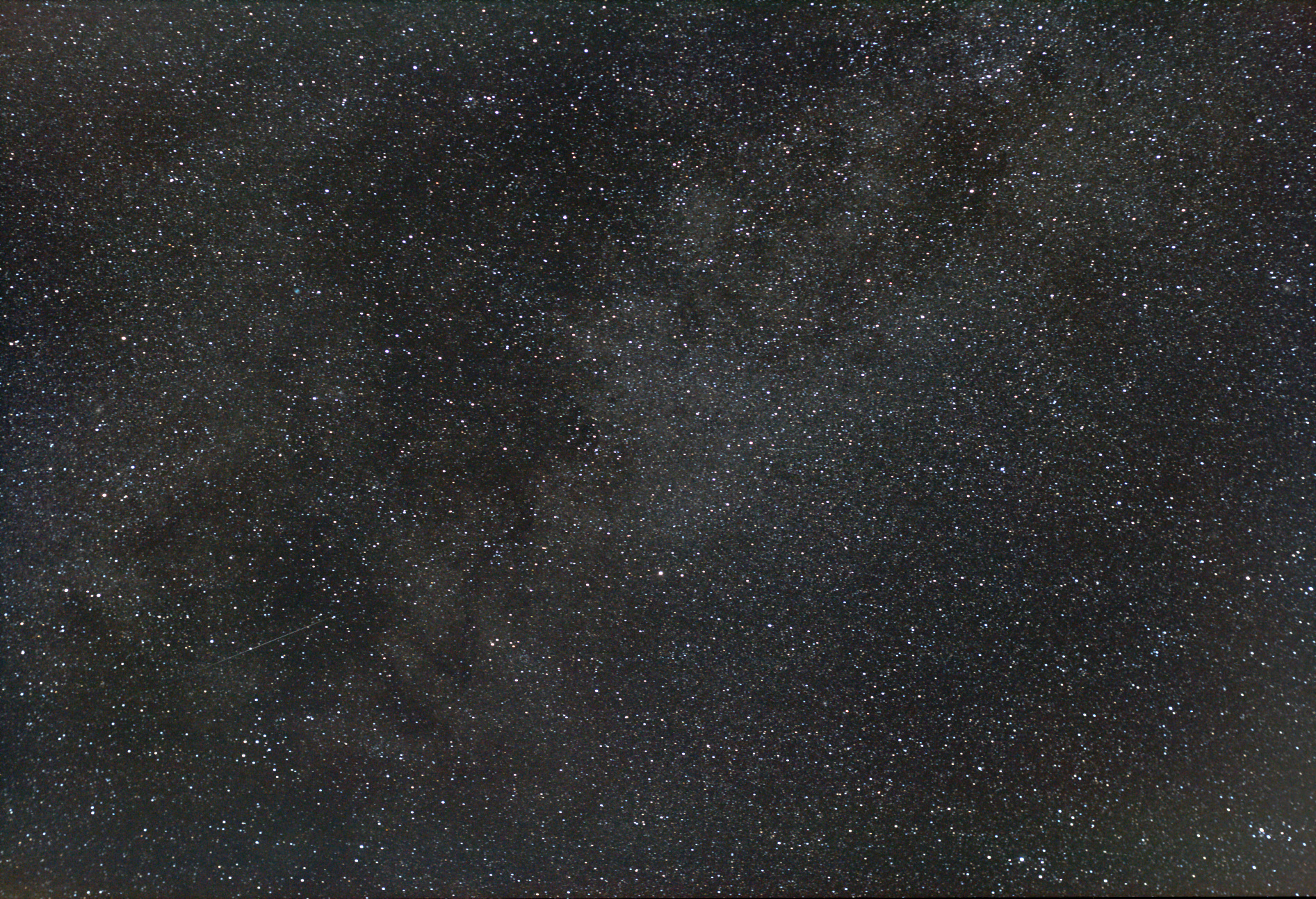 Portion of the Milky Way near Vulpecula.