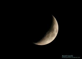 Moon - October 6th, 2016 - Benoît Guertin