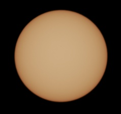 December 25th 2016 - No Sunspots