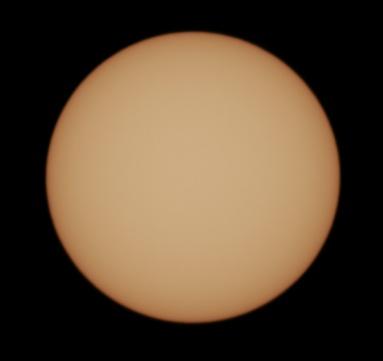 December 25th 2016 - No Sunspots
