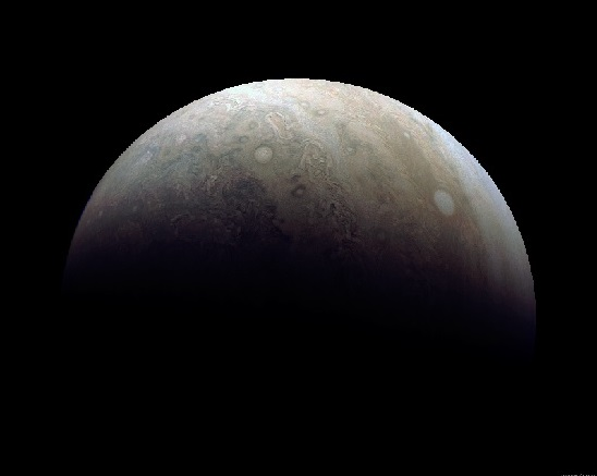 Jupiter - December 11, 2016 JunoCam - Juno Spacecraft