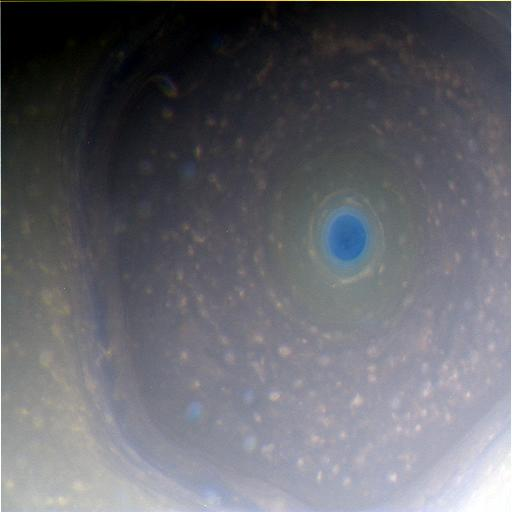 Saturn with normal RGB assignment (close to real colours)