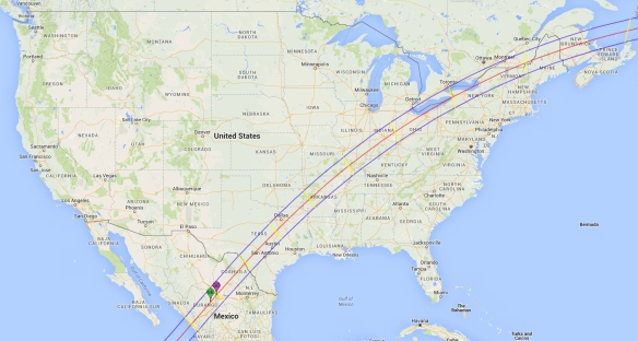 April 8th, 2024 Eclipse Path