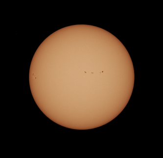 Sunspot Region 2671 (right) and 2672 (left)