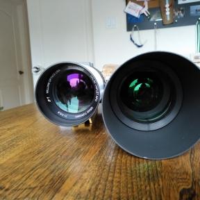 WO GT71 vs SW80ED Optics