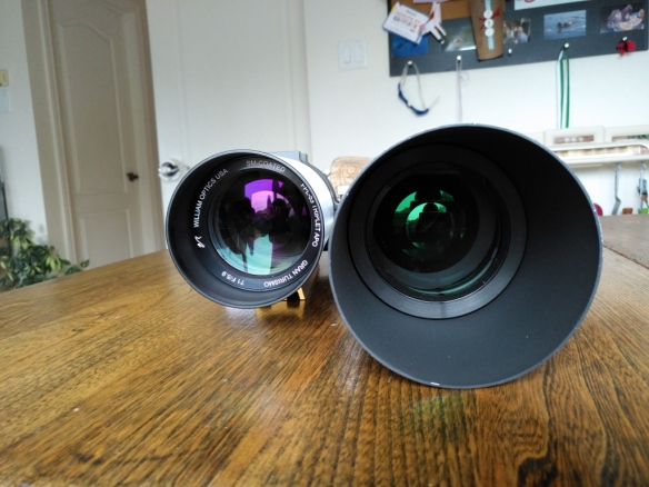 WO GT71 vs SW80ED Optics