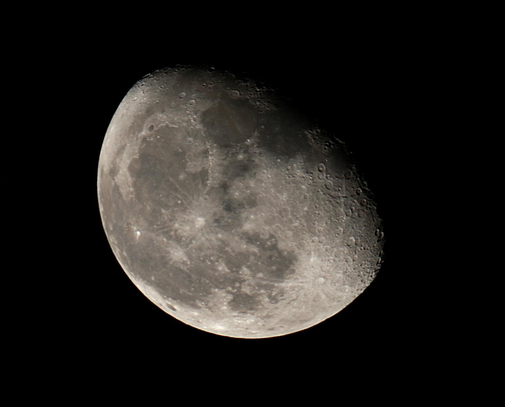 Moon Natural Color (November 7, 2017) - Benoit Guertin