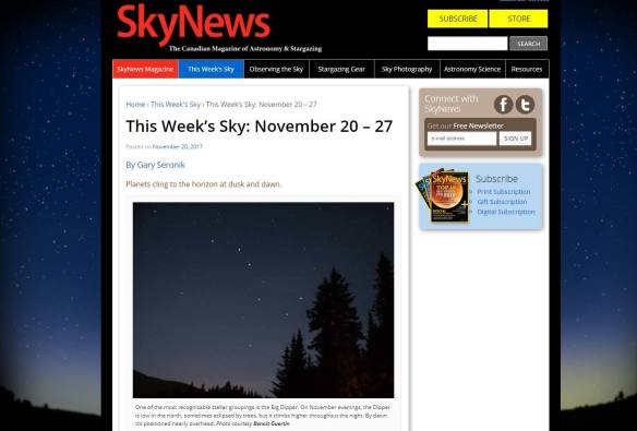 My photo featured on SkyNews