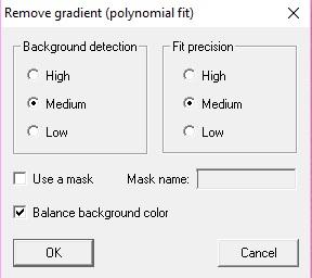 remove gradient