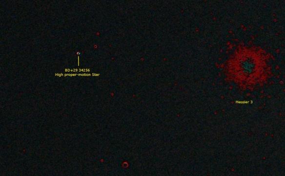 High PM Star BD+29 34256