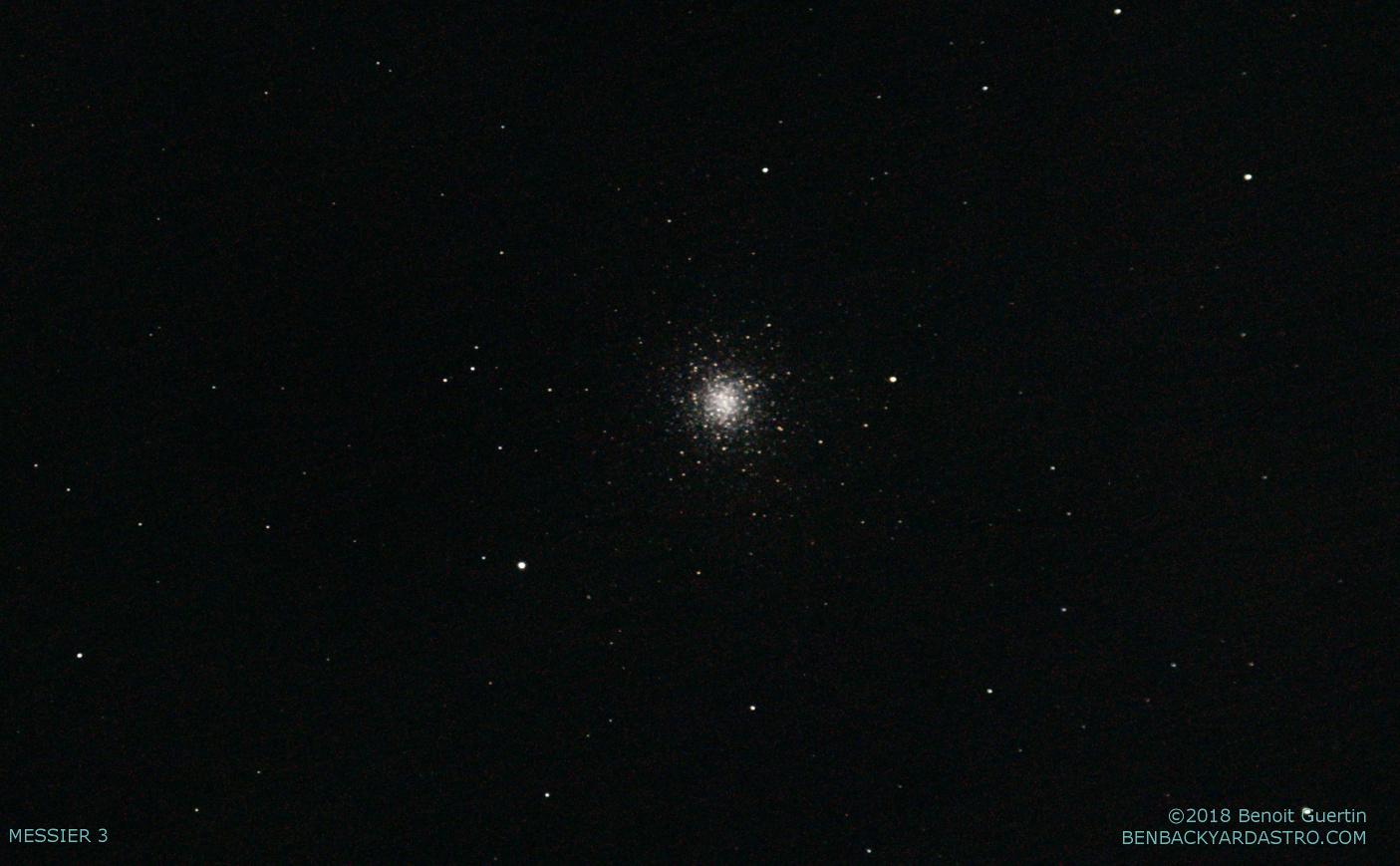 Globular Cluster - Messier 3 (Benoit Guertin)