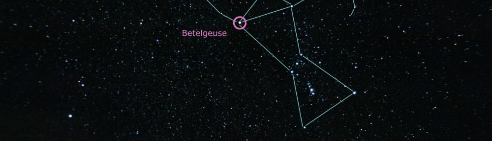 Betelgeuse Red Super Giant in Orion (Benoit Guertin)